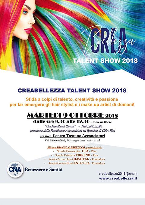 CNA Benessere e Sanità di Pisa, organizza CREABELLEZZA Talent Show ...